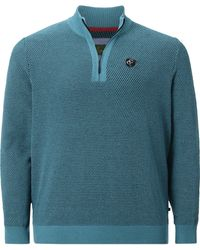 Charles Colby Pullover - Blau