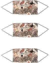 ONLY Stoffmasken 3er Pack mischfarben - Mehrfarbig