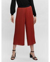 Vero Moda High Waist Hose - Rot
