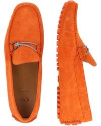 BOSS by HUGO BOSS Mokassin 'Driver' - Orange