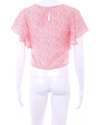& Other Stories Kurzarm-Bluse - Pink
