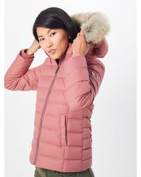 Tommy Hilfiger Steppjacke TJW ESSENTIAL HOODED DOWN JACKET - Pink