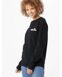 Ellesse Sweater 'Triome' - Schwarz