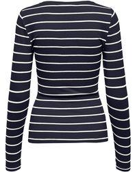 ONLY Shirt 'Fifi' - Blau