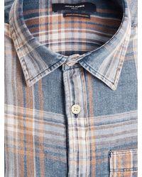 Jack & Jones Hemd 'Blu Steven' - Blau