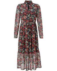 Aniston CASUAL Kleid - Mehrfarbig