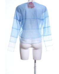 Viktor & Rolf Transparenz-Bluse - Blau
