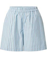 Moss Copenhagen Shorts - Blau
