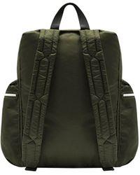 HUNTER Original Mini-rucksack Aus Nylon Mit Klippverschluss - Grün