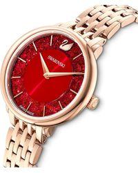 Swarovski Uhr - Rot