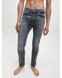 Calvin Klein Skinny Jeans - Grau
