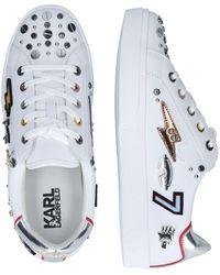 Karl Lagerfeld Sneaker 'SKOOL' - Mehrfarbig