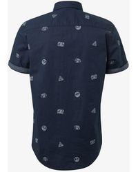 Tom Tailor Hemd - Blau