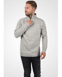 Solid Sweatshirt 'Jorke' - Grau