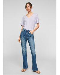 Q/S designed by Jeans 'Reena' - Blau