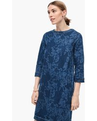 S.oliver Denim-Kleid - Blau