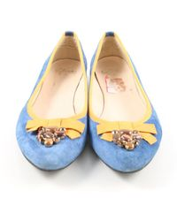 Clarks Klassische Ballerinas - Blau