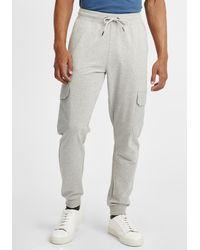Solid Sweatpants 'Jory' - Grau