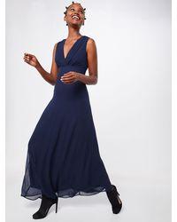 TFNC London Kleid 'NORDI MAXI' - Blau