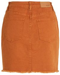 Object Jeansrock - Orange