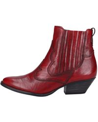 Paul Green Stiefelette - Rot