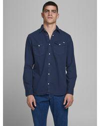 Jack & Jones Hemd - Blau