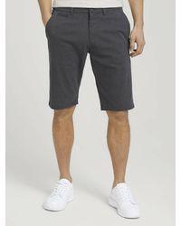 Tom Tailor Chino-Shorts - Grau