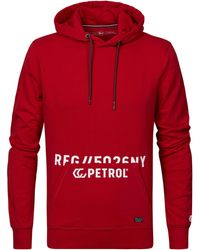 Petrol Industries Kapuzenpullover - Rot