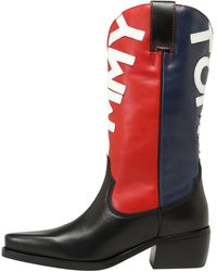 Tommy Hilfiger Stiefel 'HERITAGE COWBOY BOOT' - Mehrfarbig