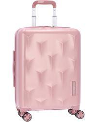 Hedgren Kabinentrolley 'Edge Carve' 55 cm - Pink