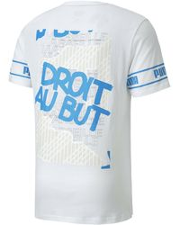 PUMA Olympique de Marseille ftblCULTURE II Herren T-Shirt - Weiß