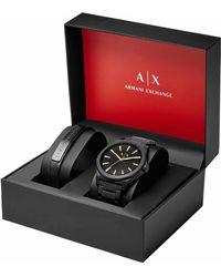 Armani Exchange Uhr - Schwarz