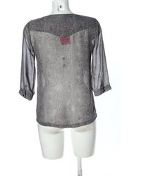 ONLY - Transparenz-Bluse - Lyst
