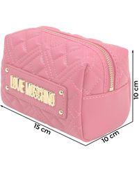 Love Moschino Kosmetiktasche - Mehrfarbig
