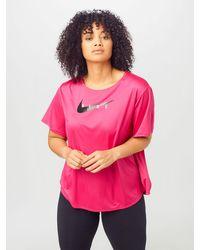 Nike Laufshirt - Pink