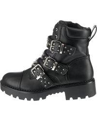 Buffalo Biker Boots 'Feriz' - Schwarz