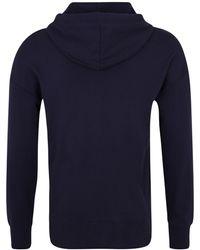 Calvin Klein Sweatshirt 'FULL ZIP HOODIE' - Blau