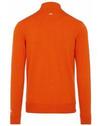 J.Lindeberg Pullover - Orange