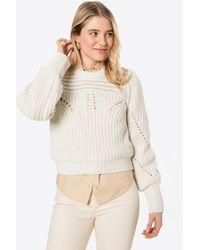 Object Pullover 'TRISH' - Weiß