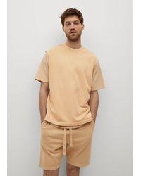 Mango T-Shirt 'Barium-I' - Natur