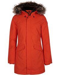 O'neill Sportswear Parka 'journey' - Rot