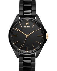 MVMT Uhr - Schwarz