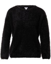 OVS Pullover 'HAIRY' - Schwarz