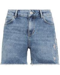 Hallhuber Jeansshorts - Blau