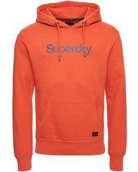 Superdry Hoodie - Orange