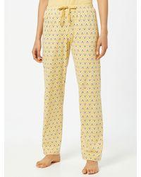 CALIDA Pyjamahose - Gelb