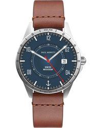 PAUL HEWITT Uhr 'Mit Wechselband' - Blau