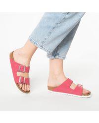 Birkenstock Pantolette 'Arizona' - Pink