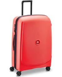 Delsey Belmont Plus 4-Rollen Trolley 76 cm - Rot