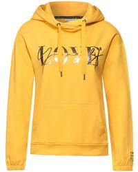 Street One Sweatshirt - Gelb